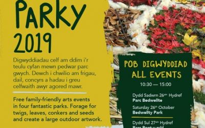 Arty Parky Event 27th October 2019 (Suitable for Year 7's)