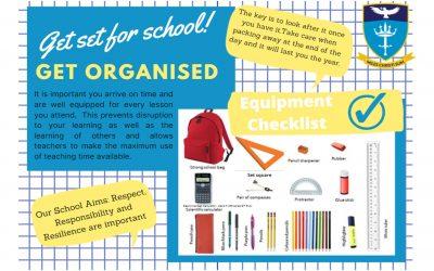 Back to School – Get Organised!