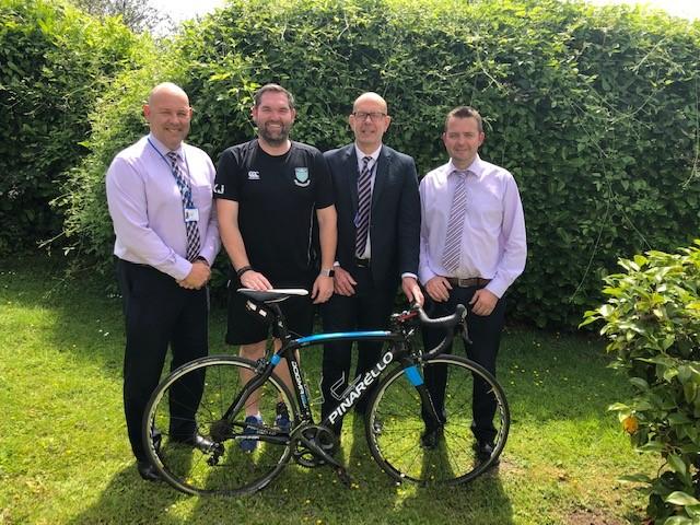 Four Teachers & their Bikes