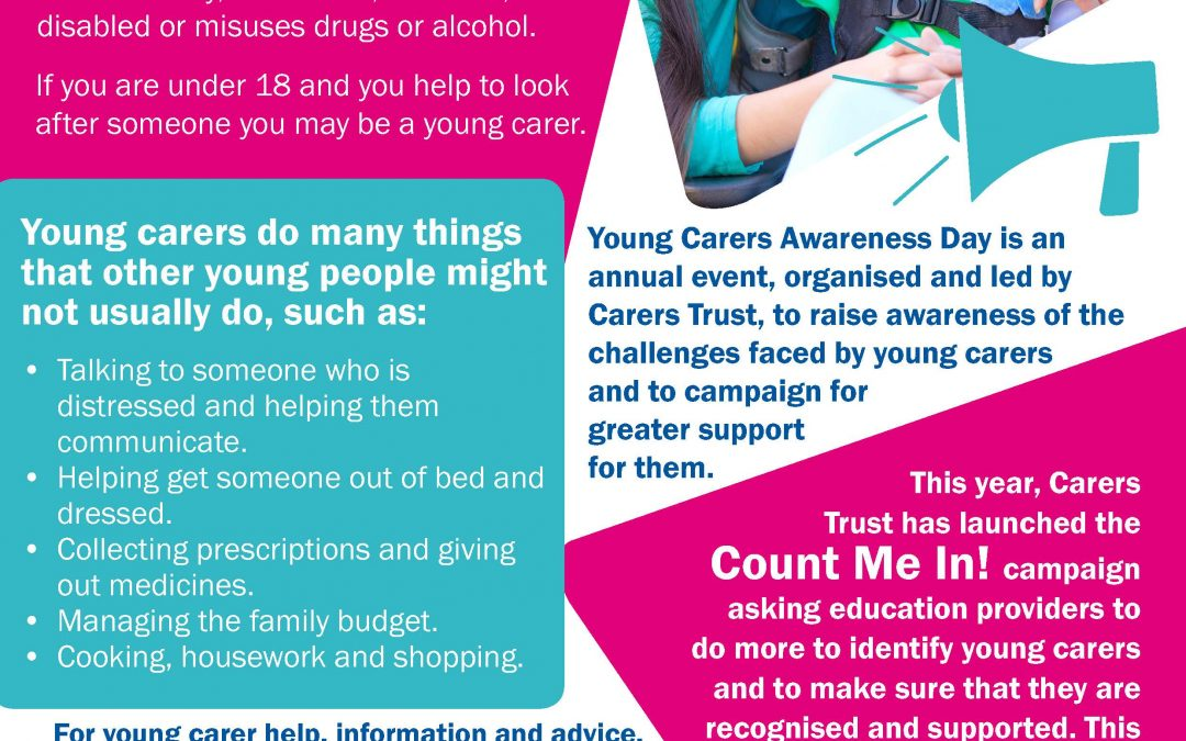 Young Carers Awareness Day Thursday 30th January 2020